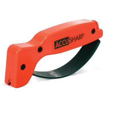 AccuSharp Knife and Tool Sharpener 014C Blaze Orange