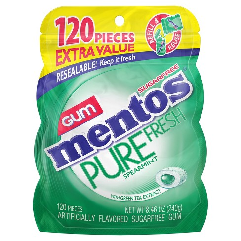 Mentos Spearmint Chewing Gum - 8.46oz - image 1 of 1