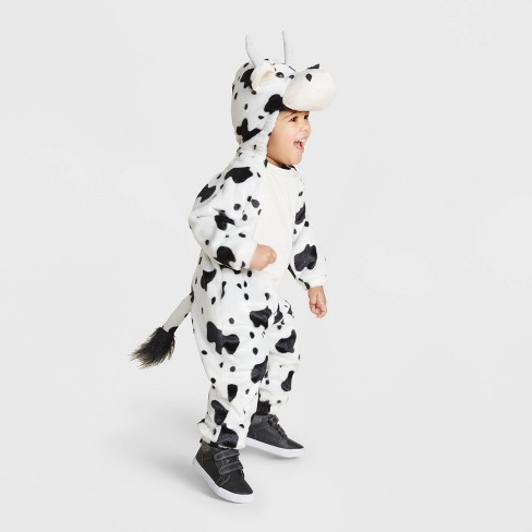Baby Plush Cow Halloween Costume 0-6M - Hyde & EEK! Boutique™ - image 1 of 1