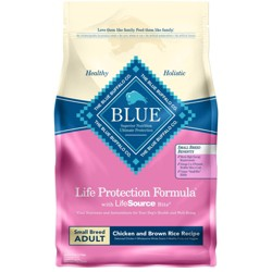 Blue Buffalo Adult Chicken & Brown Rice Small Breed Dry Dog Food