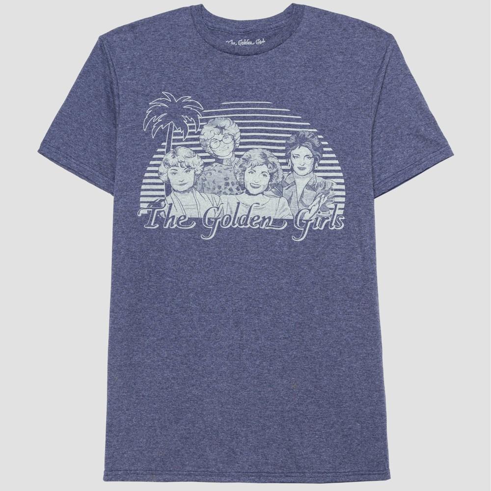 Image of Men's The Golden Girls Short Sleeve Graphic T-Shirt - Blue M, Men's, Size: Medium