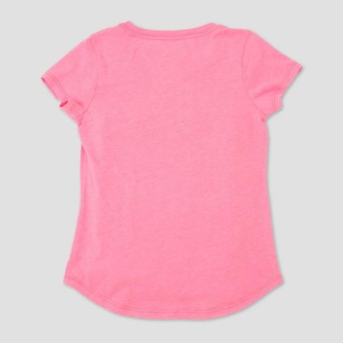 24f8d8ba9af7 Girls' Barbie Short Sleeve T-Shirt - Pink : Target