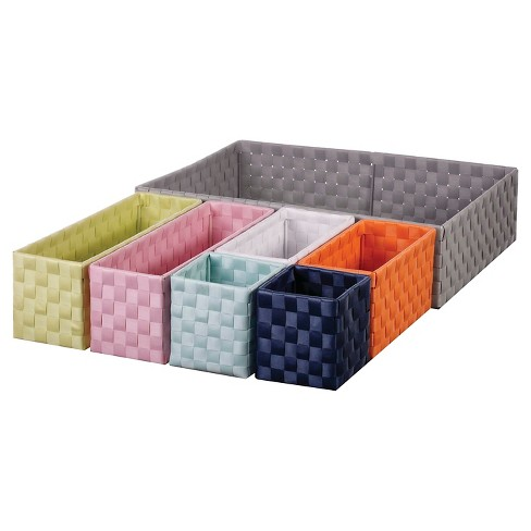 Woven 7-Piece Drawer Organizer - Pillowfort™ - image 1 of 2