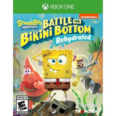 Spongebob Squarepants: Battle for Bikini Bottom Rehydrated - Xbox One - image 1 of 4
