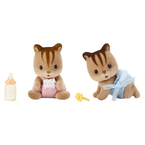 Calico Critters Hazelnut Chipmunk Twins - image 1 of 1