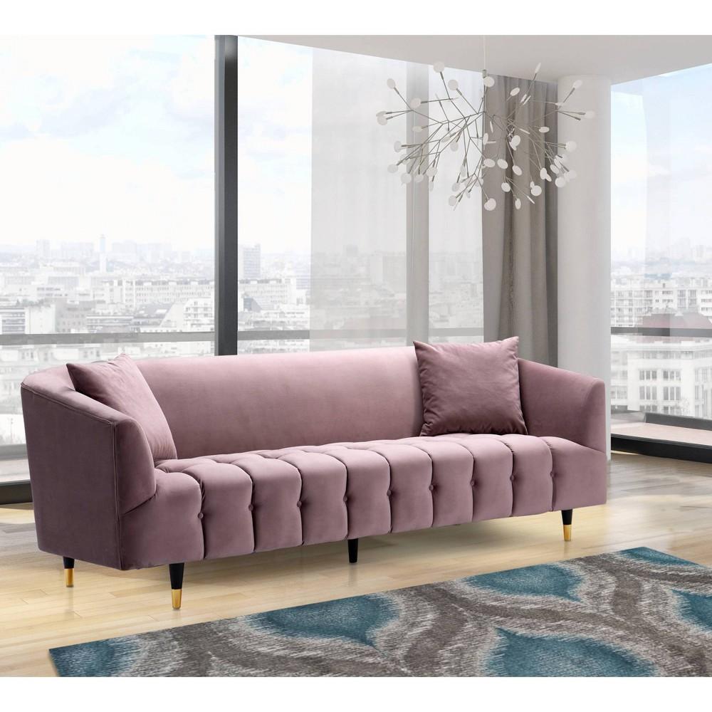 Ella Sofa Blush - Chic Home Design