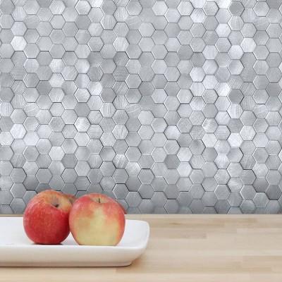 DIP Design is Personal 10pk Mini Hexagon 12'' x 12'' Tiles Backsplash