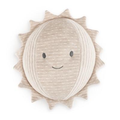 DEMDACO Moon & Back Sun Rattle