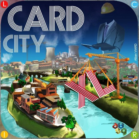 Card City XL Board Game - image 1 of 2