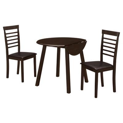 Dining Set   3 Piece   Drop Leaf Table   EveryRoom