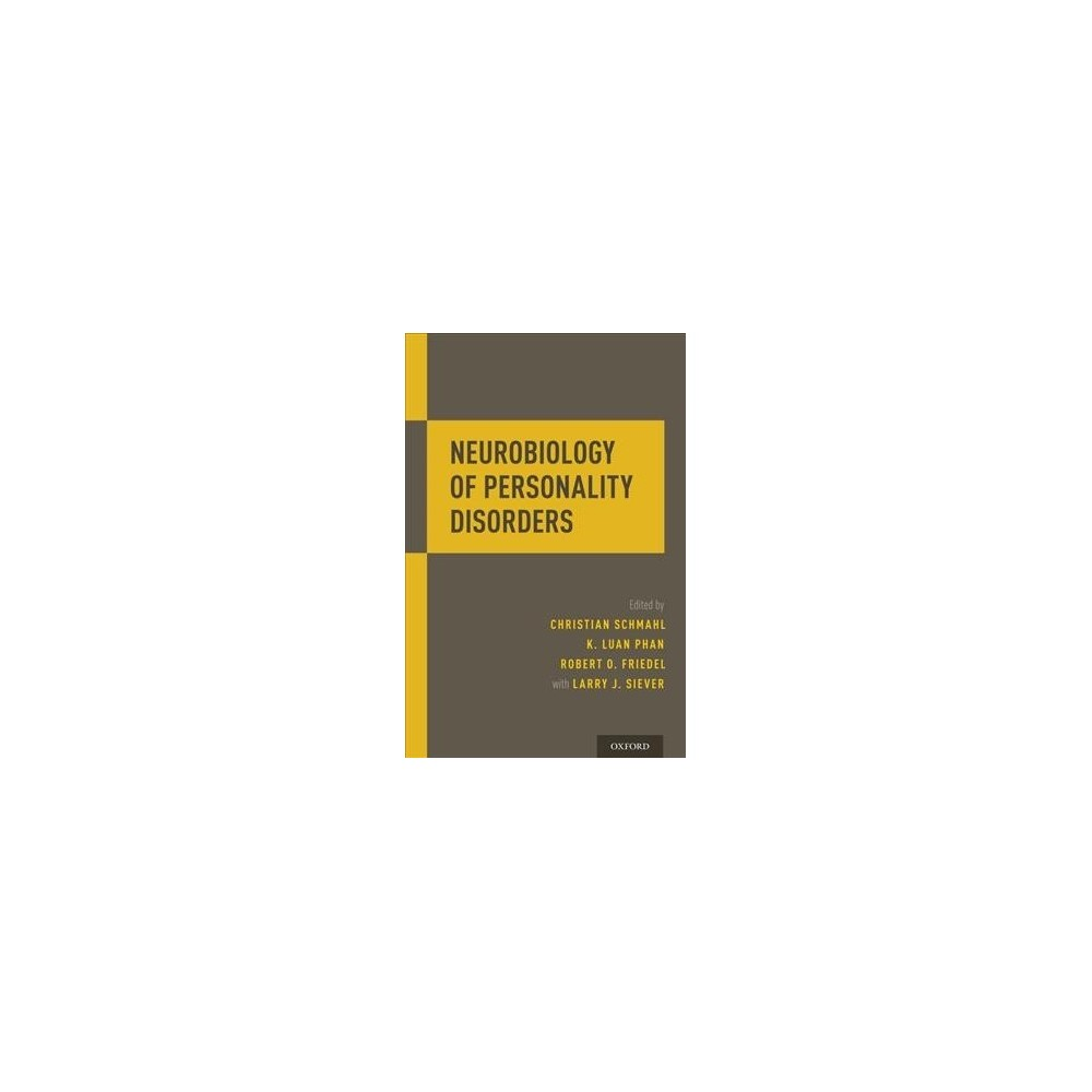 Neurobiology of Personality Disorders - 1 (Paperback)