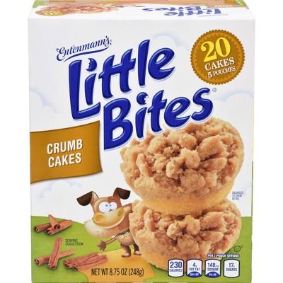 Entenmann's Little Bites Crumb Cake Muffins - 8.25oz