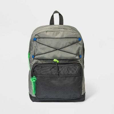 Kids' Bungee Backpack - Cat & Jack™ Gray
