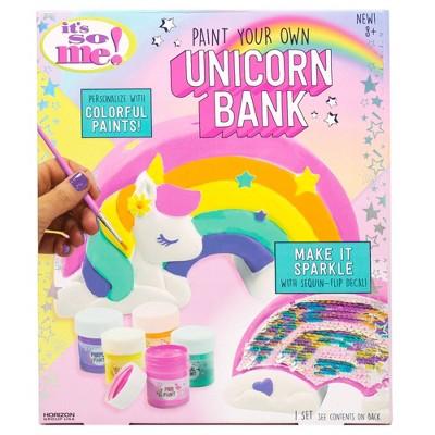 Paint Your Own Unicorn Bank - It's So Me
