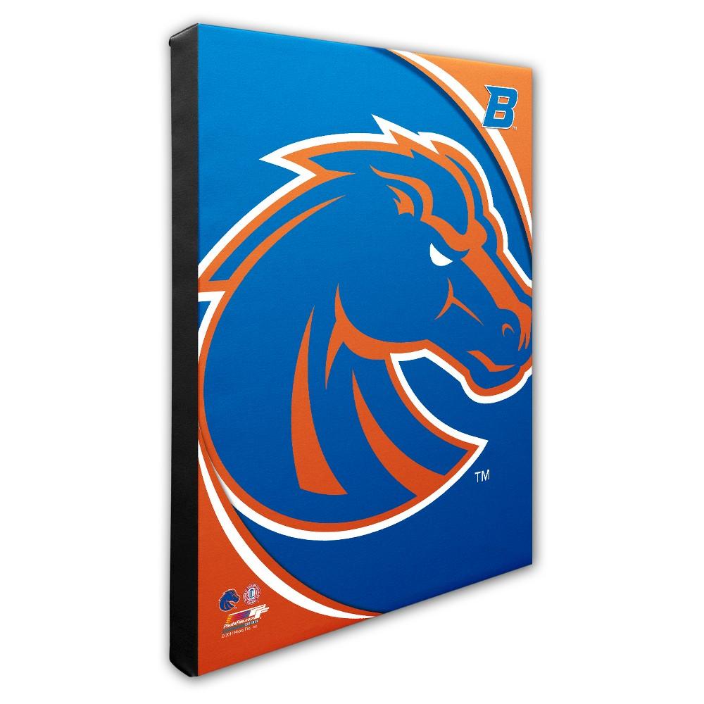 NCAA Boise State Broncos Logo Canvas Wall Art - 16