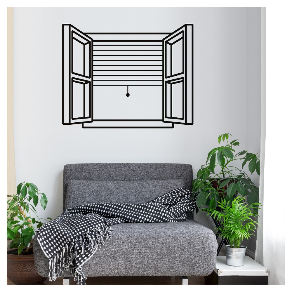 Image of 74th Street Wall Decal - Black
