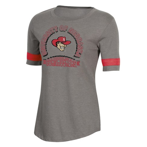 NCAA Women's Short Sleeve Scoop Neck T-Shirt Nebraska Cornhuskers - image 1 of 2