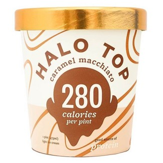 Halo Top Caramel Macchiato Ice Cream - 16oz