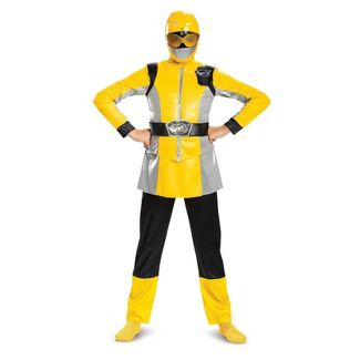Boys' Power Rangers Yellow Ranger Beast Morpher Deluxe Halloween Costume M