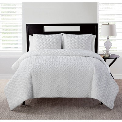 Nina Ii Embossed Comforter Set - VCNY Home