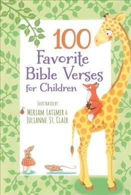 100 Favorite Bible Verses for Children - (Hardcover)