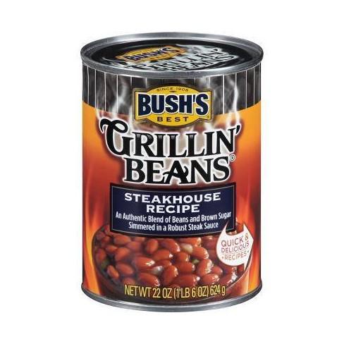 Steakhouse Recipe Grillin' Beans - 22oz