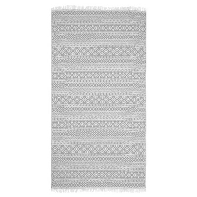 Sea Breeze Pestemal Beach Towel Gray - Linum Home Textiles®