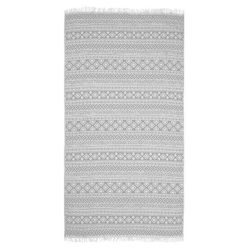 Sea Breeze Pestemal Beach Towel Gray - Linum Home Textiles