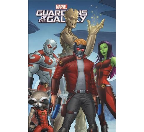 Marvel Universe Guardians of the Galaxy 6 -  by Joe Caramagna (Paperback) - image 1 of 1