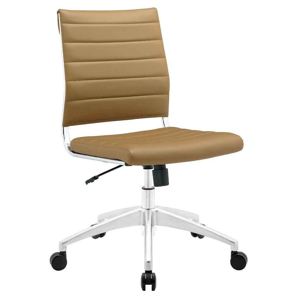 Image of Office Chair Modway Desert Tan