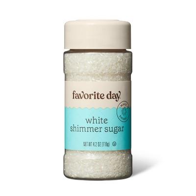 White Shimmer Sugar - 4.2oz - Favorite Day™