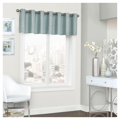 Presto Thermalined Window Valance Blue (52 x18 )- Eclipse™