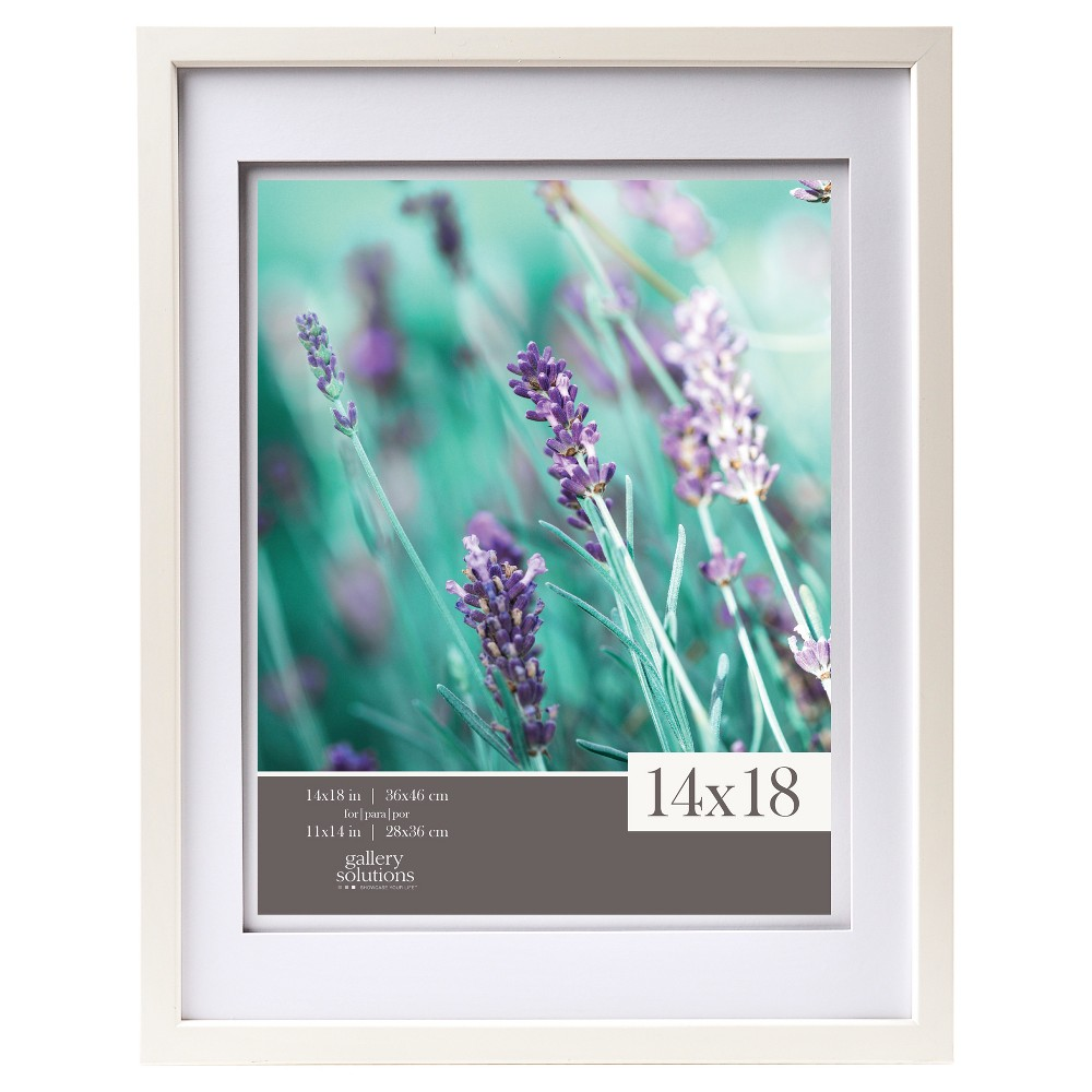 """Image of """"14"""""""" x 18"""""""" Frame White - Gallery Solutions"""""""