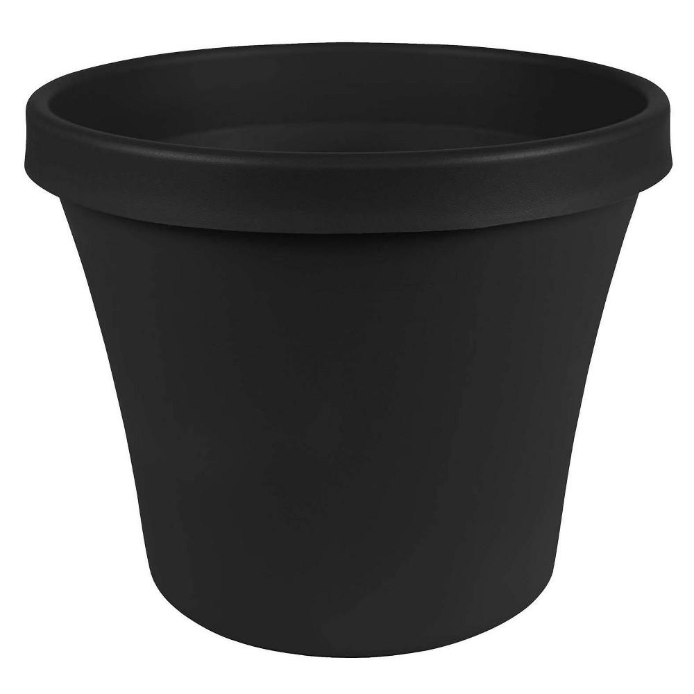 "Image of ""4"""" Terra Pot Planter Black - Bloem"""