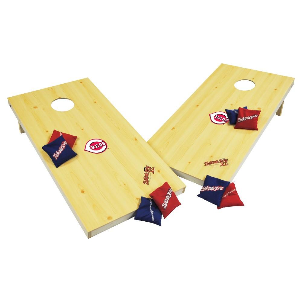 Cincinnati Reds Wild Sports XL Cornhole Bag Toss Set - 2x4 ft.
