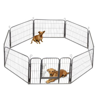 Paws & Pals Heavy Duty Metal Playpen - 40