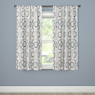 Timmons Curtain Panel Natural 84  - Eclipse