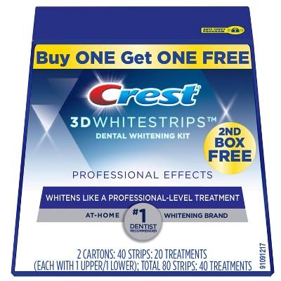 Crest 3d Whitestrips Professional Effects Teeth Whitening Kit