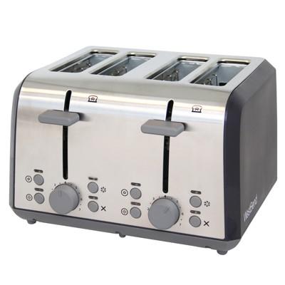 West Bend 4 Slice Toaster - Black