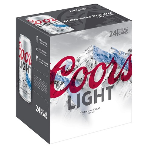Coors Light® Beer - 24pk / 12oz Cans - image 1 of 1