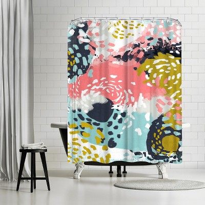 """Americanflat Athena by Charlotte Winter 71"""" x 74"""" Shower Curtain"""