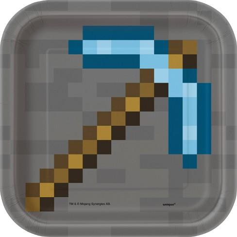 "Minecraft 7"" 8ct Snack Plates - image 1 of 2"