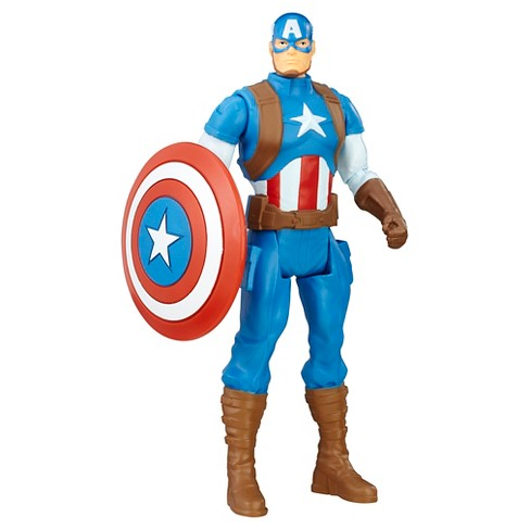 "Marvel Avengers Captain America Basic Action Figure 6"" - image 1 of 2"