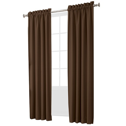 Sun Zero Spencer Thermal Insulated Energy Efficient Rod Pocket Curtain Panel Pair - image 1 of 2