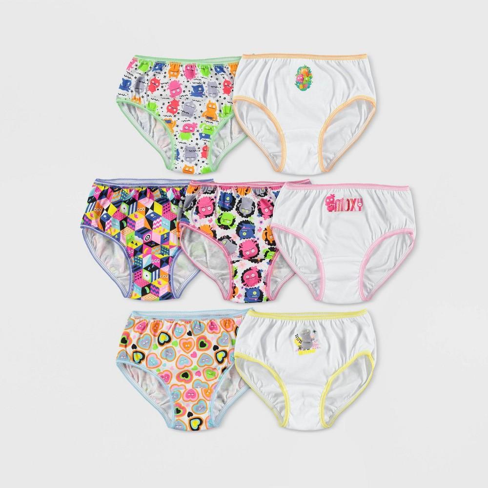 Image of Girls' UglyDolls 7pk Bikini Briefs - 4, Girl's, MultiColored