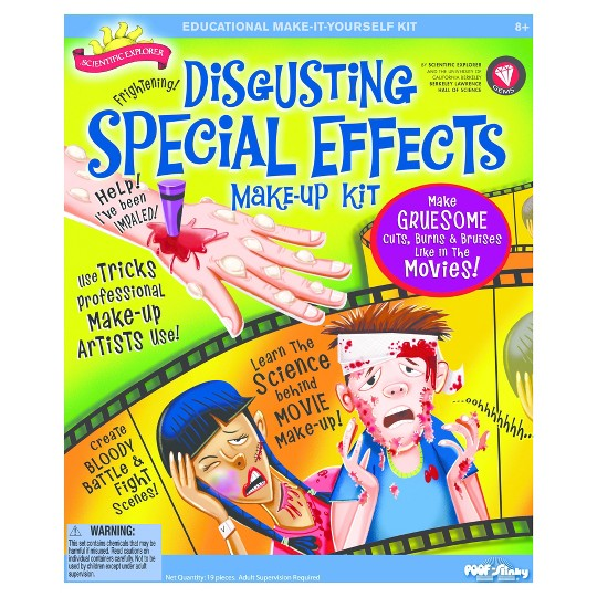 Scientific Explorer Disgusting Special Effects Makeup Kit image number null