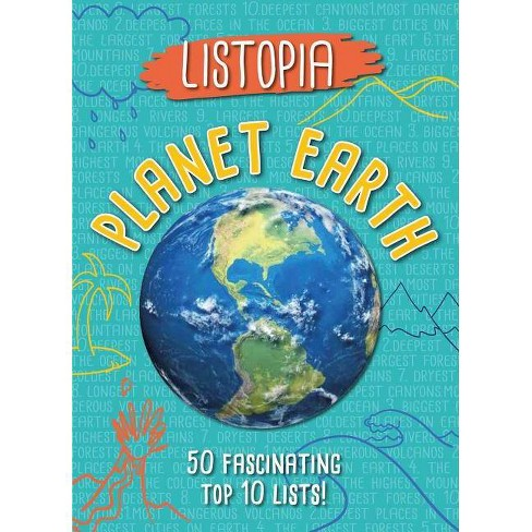 Listopia: Planet Earth - by  James Buckley & Diane Bailey (Paperback) - image 1 of 1