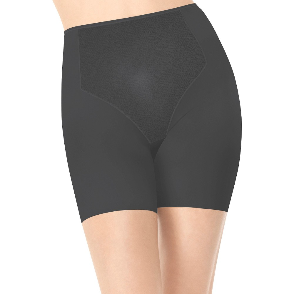 Assets by Sara Blakely a Spanx Brand Women's Firmers Mid-Thigh 1952 - Black L