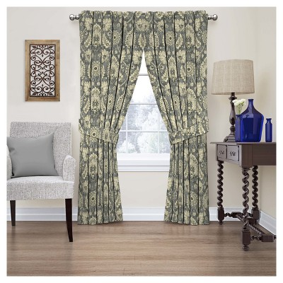 Clifton Hall Floral Curtain Panel - Waverly