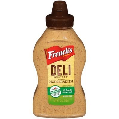 Mustard: French's Horseradish
